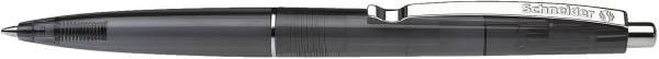 Kugelschreiber K20 ICY COLOURS schwarz transparent, M schwarz