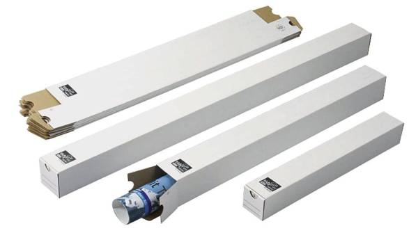 TIDYPAC Versandhülse 750x75x75mm weiß 30000923