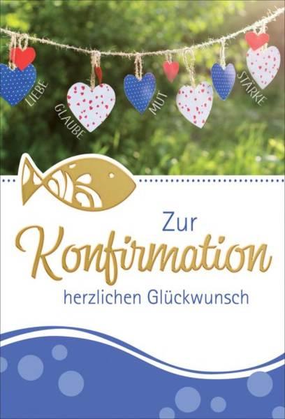 Konfirmationskarte 1-121500 Bild