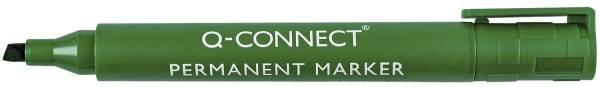 Q-CONNECT Permanentmarker M grün KF01774 Keilspitze