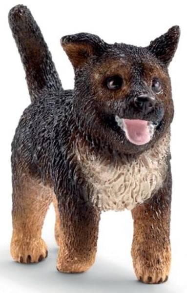Spielzeugfigur Schäferhund Welpe