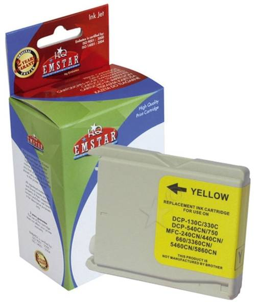 EMSTAR Inkjetpatrone yellow B44 LC970,1000