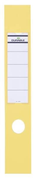 Rückenschild 60mm gelb