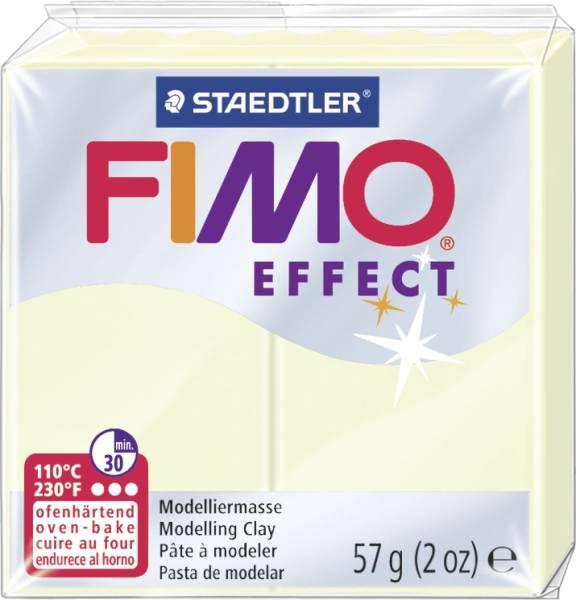 STAEDTLER Modelliermasse Fimo nachtleuchtend 8020-04 Soft 57g