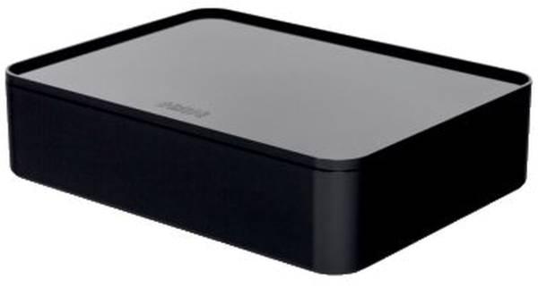 HAN Utensilienbox +Deckel schwarz 1110-13 Allison