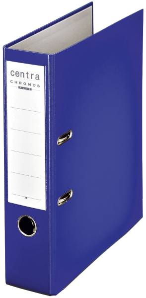 Ordner PP Chromos A4, 80 mm, blau