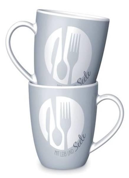 LA VIDA Kaffeebecher mit Leib und Seele 950644
