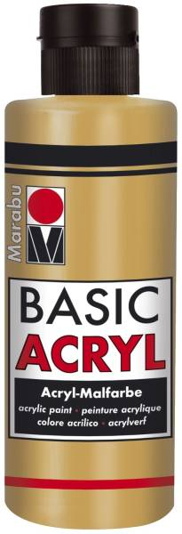 Basic Acryl, Metallic Gold 784, 80 ml