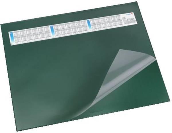 Schreibunterlage DURELLA DS mit Vollsichtauflage, Kalender, 65 x 52 cm, grün