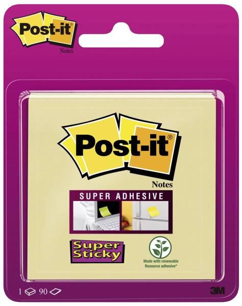 POST-IT Haftnotizblock 76x76mm gelb 6920SS-CY