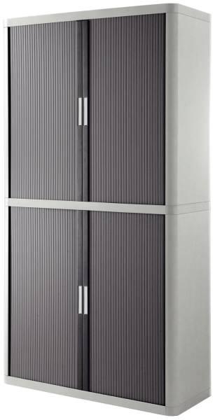 Rolladenschrank easyOffice 2 Meter Schrank, inklusive 4 Fachböden grau anthrazit