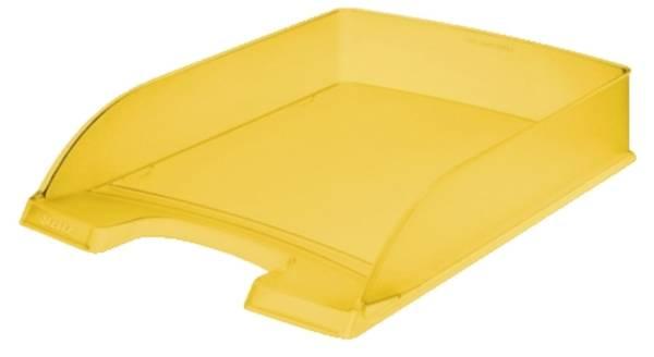 LEITZ Briefkorb A4 frost gelb 5227-00-10 Standard