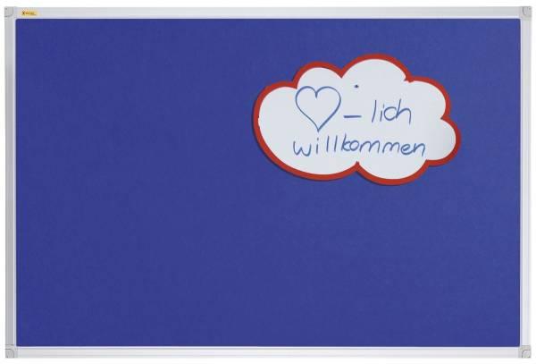 FRANKEN Filztafel 90x60cm blau PT330203 X-tra!Line