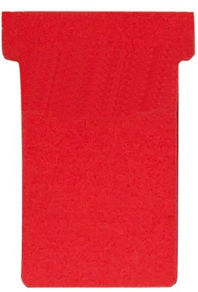 FRANKEN Einsteckkarte Größe 1 rot TK101 55x15mm 100St
