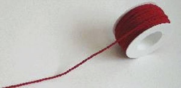 Kordel 3 mm x 25 m, rot