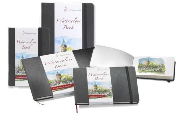 HAHNEMÜHLE Skizzenbuch Wasserfarben A6 naturweiß 10628813