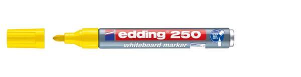 250 Boardmarker nachfüllbar, 1,5 3 mm, gelb