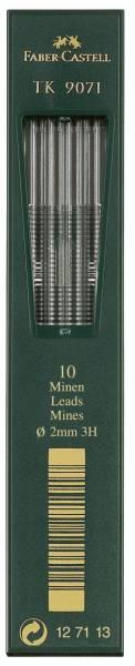 FABER CASTELL Fallmine 9071 2mm 3H 10ST 127113
