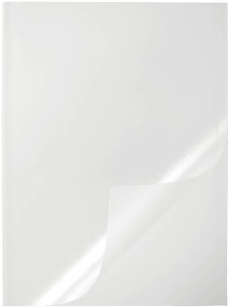 Klemmschienenhülle transparent, 1 100 Blatt, Hartfolie, transparent, 50 Stück