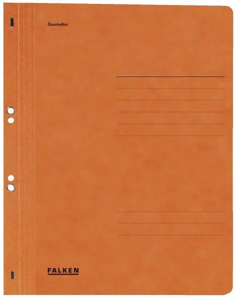 Ösenhefter A4 1 1 Vorderdeckel, orange, Manilakarton, 250 g qm