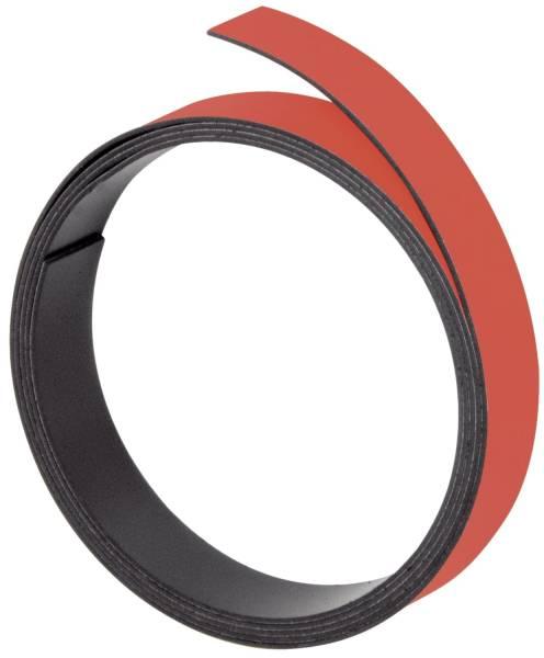 Magnetband 100 cm x 5 mm, rot