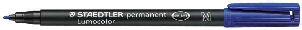 Feinschreiber Universalstift Lumocolor permanent, M, blau®