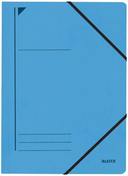 3980 Eckspanner A4, 250 Blatt, Pendarec Karton (RC), blau