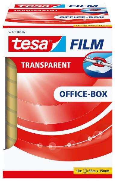 TESA Klebefilm 10RL 15mm 66m transp. 57372-00002-01 OfficeBox