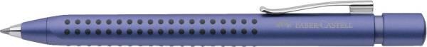 Kugelschreiber GRIP 2011 XB, blau (dokumentenecht), blau metallic