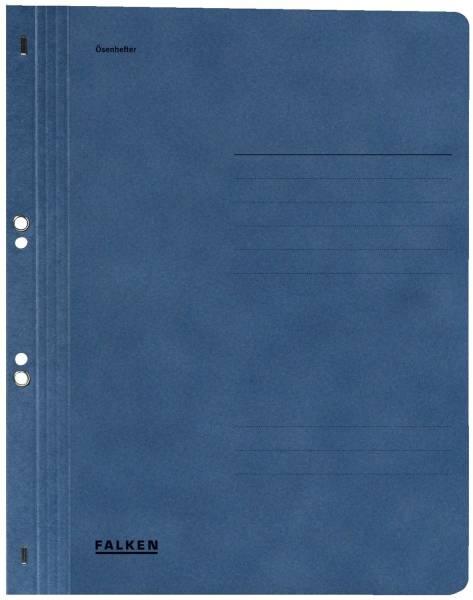 Ösenhefter A4 1 1 Vorderdeckel, blau, Manilakarton, 250 g qm