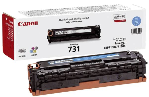 CANON Lasertoner EP-731 cyan 6271B002