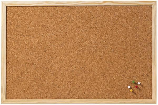 Korktafel Memoboard, 60 x 80 cm, braun