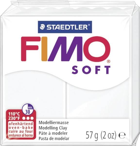 Modelliermasse soft 56 g, weiß®