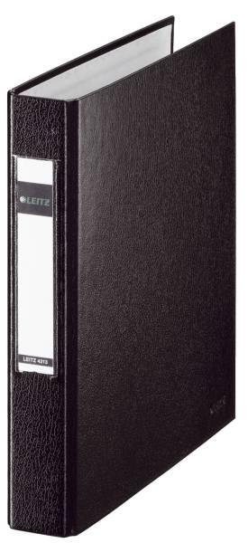 4213 Standard Ringbuch A5, 25mm, 2 Ringe, PP, schwarz