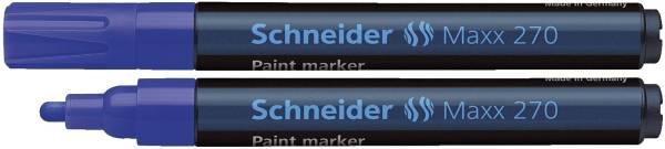 SCHNEIDER Lackmalstift Maxx 270 blau 127003 1-3mm