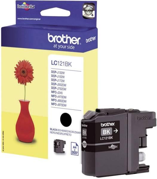 BROTHER Inkjetpatrone schwarz LC121BK