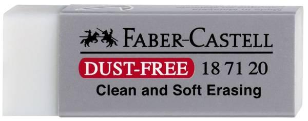 Radierer DUST FREE, aus Kunststoff
