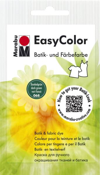MARABU Batik-und Färbefarbe d'grün 1735 22 068/25g Easy C.