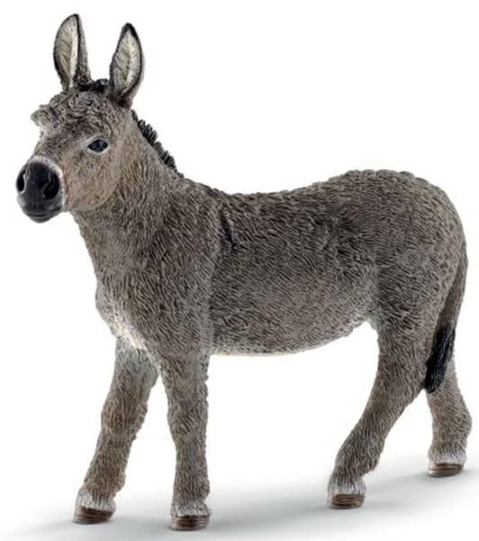Spielzeugfigur Esel
