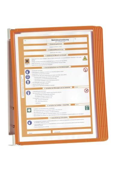 DURABLE Sichttafelsystem orange 5551 09 Vario Wall 5