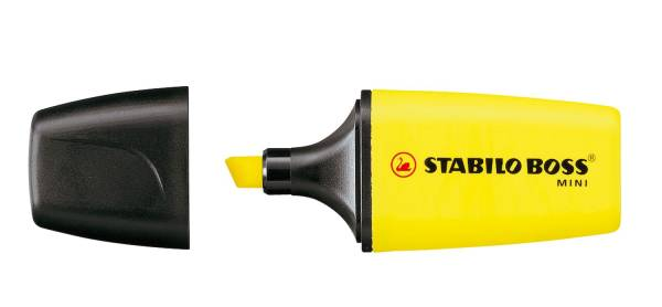 STABILO Textmarker Boss Mini gelb 07/24