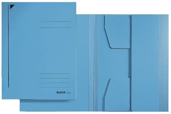 3923 Jurismappe, A3, Colorspankarton 300g, blau