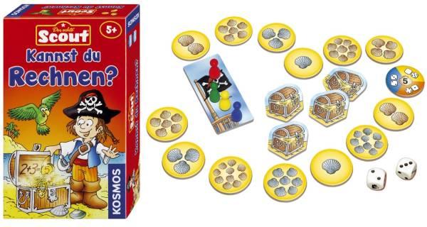 KOSMOS Mitbringspiel Scout 710514 Kannst du Rechnen?