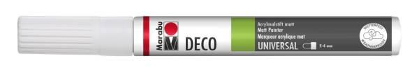 Deco Painter weiß 070, 2 4 mm