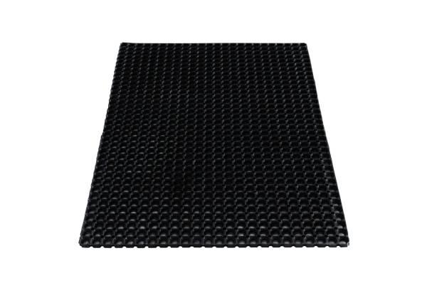 MILTEX Ringgummimatte schwarz 31220 100x150cm