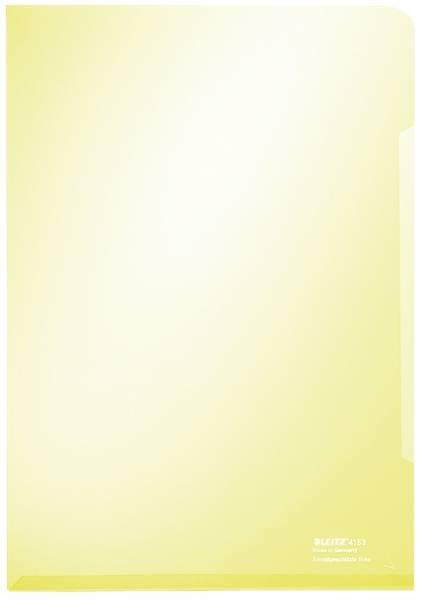 4153 Sichthülle Super Premium, A4, PVC, dokumentenecht, gelb