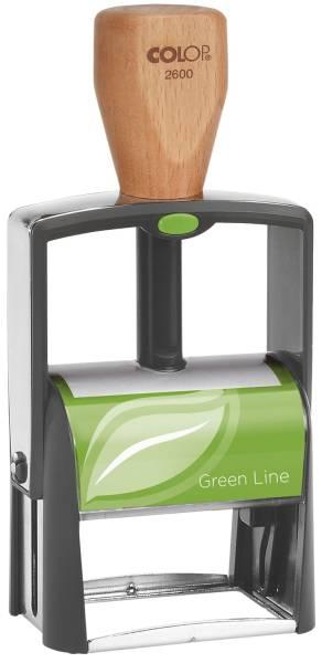 Classic 2600 Green Line max 8 Zeilen, 27 x 58 mm