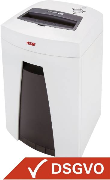 Aktenvernichter SECURIO C18 1,9x15mm, Partikelschnitt, 6 7 Blatt, weiß