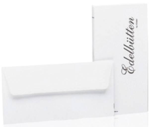 RÖSSLER Briefhülle DL SF 20ST weiß Edelbütten 2032388003 geh.
