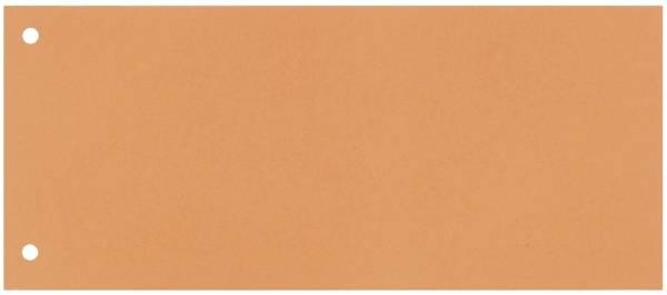 Trennstreifen 190 g qm Karton, orange, 100 Stück
